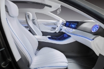 "Mercedes-Benz ""Concept IAA"" (Intelligent Aerodynamic Automobile). Interieur mit touchbasierter Bedienung. The interior: touch-based operating philosophy"