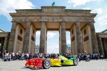 Daniel Abt Drives the Formula E Car Around Berlin. Thursday 19 May 2016 Photo: Adam Warner / LAT / FE ref: Digital Image _L5R8915