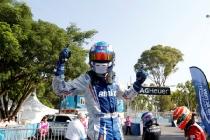 Race Winner Antonio Felix Da Costa (POR)/Amlin Aguri - Spark-Renault SRT_01E   FIA Formula E World Championship. Buenos Aires, Argentina, South America. Saturday 10 January 2015.  Copyright: Adam Warner / LAT / FE ref: Digital Image _L5R7244