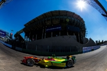 2015/2016 FIA Formula E Championship. Mexico City ePrix, Autodromo Hermanos Rodriguez, Mexico City, Mexico. Saturday 12 March 2016. Lucas Di Grassi (BRA), ABT Audi Sport FE01. Photo: Zak Mauger/LAT/Formula E ref: Digital Image _L0U7930