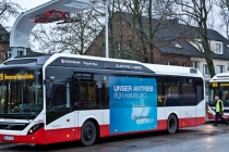 Volvo, Electric Hybrid, Hamburg Linie 109