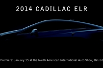 The Cadillac ELR extended-range electric vehicle will be revealed on Tuesday, Jan. 15, 2013 at the North American International Auto Show in Detroit.