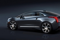 The 2014 Cadillac ELR luxury coupe cuts a dramatic, forward-leaning profile that remains faithful in its execution to the Art & Science design philosophy and the Converj show car that inspired it. The ELR is the industry's only electric vehicle offered by a full-line luxury automaker. Production starts in late 2013.