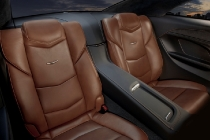 The 2014 Cadillac ELR's 2+2 layout features fold-down rear seats to accommodate longer items, such as skis, snowboards and golf clubs. The ELR is the industry's only electric vehicle offered by a full-line luxury automaker. Production starts in late 2013.