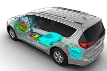 2017 Chrysler Pacifica Hybrid cutaway