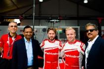 | Team: Mahindra Racing| Car: M3 Electro|| Photographer: Lou Johnson| Event: New York ePrix| Circuit: Brooklyn Circuit| Location: Brooklyn, NY| Series: FIA Formula E| Season: 2016-2017| Country: US|