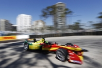 2014/2015 FIA Formula E Championship. Long Beach ePrix, Long Beach, California, United States of America. Saturday 4 April 2015  Photo: Zak Mauger/LAT/Formula E ref: Digital Image _L0U7725