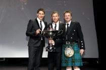 Loïc Duval (F), Tom Kristensen (DK), Allan McNish (GB)