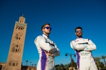 |Driver: Jose Maria Lopez| Team: DS Virgin Racing| Number: 37|| Car: Virgin DSV-02||Driver: Sam Bird| Team: DS Virgin Racing| Number: 2| Car: Virgin DSV-02|| Photographer: Nat Twiss| Event: Marrakesh ePrix| Circuit: CIRCUIT INTERNATIONAL AUTOMOBILE MOULAY EL HASSAN| Location: Marrakesh| Series: FIA Formula E| Season: 2016-2017| Country: MA|| Photographer: Nat Twiss| Event: Marrakesh ePrix| Circuit: CIRCUIT INTERNATIONAL AUTOMOBILE MOULAY EL HASSAN| Location: Marrakesh| Series: FIA Formula E| Season: 2016-2017| Country: MA|