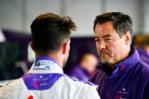 | Team: DS Virgin Racing| Car: Virgin DSV-02|| Photographer: Lou Johnson| Event: Paris ePrix| Circuit: Circuit des Invalides| Location: Paris| Series: FIA Formula E| Season: 2016-2017| Country: FR|