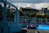 | Driver: Sam Bird| Team: DS Virgin Racing| Number: 2| Car: Virgin DSV-02|| Photographer: Lou Johnson| Event: Paris ePrix| Circuit: Circuit des Invalides| Location: Paris| Series: FIA Formula E| Season: 2016-2017| Country: FR|