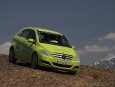 Mercedes-Benz B-Class F-Cell; Hami to Turpan