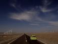 Mercedes-Benz B-Class F-Cell; Turpan to Kuitun