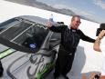 Rick Byrnes Celebrates with Ford Fusion Hydrogen 999