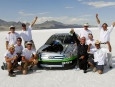Engineers Celebrate with Ford Fusion Hydrogen 999