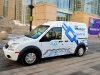 Ford's Transit Connect Electric Vehicle Travels Through Chicago