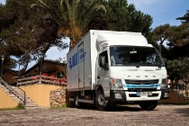 Fuso; Canter; Eco Hybrid; HEV; Euro VI; Hybrid; Box Body; Portugal; Cascais; Driving Event Cascais 2014