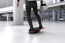 A single user mobility board which uses magnetic field extension and rotation principle. By improving accessibility and portability, it can move freely on pavements and can be used indoors.