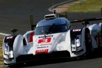 Audi R18 e-tron quattro #3 (Audi Sport Team Joest), Filipe Albuquerque, Marco Bonanomi