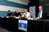 FIA Formula E Season 3 Testing - Day One. Venturi Car Unveiling.  Donington Park Racecourse, Derby, United Kingdom. Tuesday 23 August 2016. Photo: Adam Warner / LAT / FE. ref: Digital Image _L5R9621