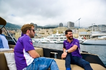   Driver: Sam Bird  Team: DS Virgin Racing  Number: 2  Car: Virgin DSV-02   Driver: Jose Maria Lopez  Team: DS Virgin Racing  Number: 37   Car: Virgin DSV-02   Photographer: Nat Twiss  Event: Monaco ePrix  Circuit: Circuit de Monaco  Location: Monaco  Series: FIA Formula E  Season: 2016-2017  Country: MC 