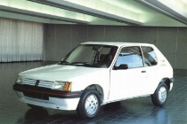 Peugeot 205 elettrica del 1992
