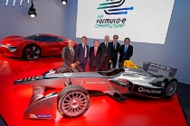 MOTORSPORT - FORMULA E DAMS LAUNCH - PARIS - 24/10/2013 - PHOTO : JEAN-MICHEL LE MEUR / DPPI -