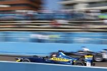 2014 Formula E Punta Del Este e-Prix, UruguaySaturday 13 December 2014.Sebastien Buemi (SWI)/E.dams Renault - Spark-Renault SRT_01E Photo: Sam Bloxham/LAT/Formula Eref: Digital Image _14P5026