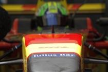 Formula E Qualifying Session.Julius Bar Branding.Punta Del Este, Uruguay, South America.Formula E Third Race Event, 11th - 14th December 2014.Saturday 13 December 2014.Photo: Adam Warner/LAT/FEref: Digital Image _A8C0393