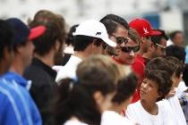 2014 Formula E Punta Del Este e-Prix, UruguayFriday 12 December 2014.Antonio Garcia (ESP)/China Racing - Spark-Renault SRT_01E Photo: Sam Bloxham/LAT/Formula Eref: Digital Image _G7C4333