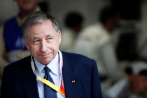 2014 Le Mans 24 Hours. Circuit de la Sarthe, Le Mans, France. Saturday 14 June 2014. Jean Todt - FIA President Photo: Sam Bloxham/LAT ref: Digital Image _SBL1159