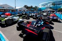 2014/2015 FIA Formula E Championship. Long Beach ePrix, Long Beach, California, United States of America. Saturday 4 April 2015  Photo: Zak Mauger/LAT/Formula E ref: Digital Image _L0U7849