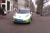 Global Shapers Help launch Nissan LEAF Taxi Service in Zurich