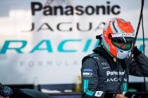 2017/2018 FIA Formula E Championship. Official Test - Valencia, Spain Tuesday 3 October 2017. Nelson Piquet Jr. (BRA), Panasonic Jaguar Racing, Jaguar I-Type II  Photo: Sam Bloxham/LAT/Formula E ref: Digital Image _J6I9261