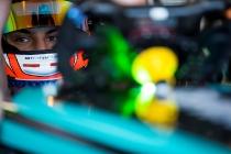 2017/2018 FIA Formula E Championship. Official Test - Valencia, Spain Tuesday 3 October 2017. Mitch Evans (NZL), Panasonic Jaguar Racing, Jaguar I-Type II  Photo: Sam Bloxham/LAT/Formula E ref: Digital Image _J6I9272