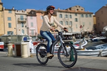 SMART Ebike und SL 63 AMG Fahrpräsentation in St Tropez