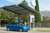 B-Klasse Natural Gas Drive (W 242) 2014, südseeblau metallic