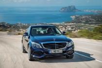 Mercedes-Benz C 300 BlueTEC HYBRID, Exclusive Line, Cavansitblau metallic, Leder ARTICO Kristallgrau/Tiefseeblau, Zierelemente Holz Linde linestructure, (W205), 2013