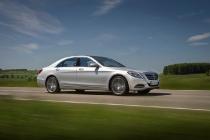 Fahrveranstaltung Mercedes-Benz S500 in Iridium Silber auf der Schwäbischen Alb: