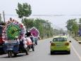 Mercedes-Benz B-Class F-Cell; Lingshi to Xian