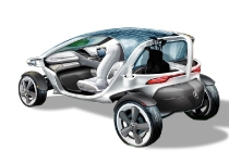 Mercedes-Benz Vision Golf Cart; Mercedes-Benz designt visionäres Golf Cart
