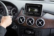 Mercedes-Benz B-Klasse Electric Drive – Interieur mit Energieflussanzeige, Rekuperation / Mercedes-Benz B-Class Electric Drive – Interior with Energy Flow, Recuperation