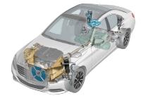 Phantomgrafik des S 300 BlueTEC HYBRID