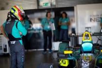 FIA Formula E Season 3 Testing - Day Two. Donington Park Racecourse, Derby, United Kingdom. Photo: Alastair Staley / LAT / FE. ref: Digital Image 585A0904