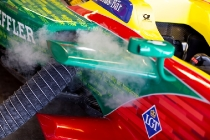 FIA Formula E Season 3 Testing - Day Two. Donington Park Racecourse, Derby, United Kingdom. Photo: Alastair Staley / LAT / FE. ref: Digital Image 585A1103