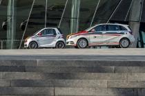 Daimler bringt Elektromobilität in Fahrschulen / Daimler introd