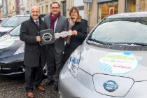 Nissan electrifies the city of Essen