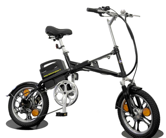 Particolare bici elettrica disponibile in italia for Bici ripiegabili