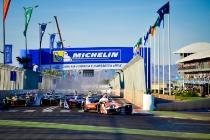   Photographer: Marta Rovatti Studihrad  Event: Marrakesh ePrix  Circuit: CIRCUIT INTERNATIONAL AUTOMOBILE MOULAY EL HASSAN  Location: Marrakesh  Series: FIA Formula E  Season: 2016-2017  Country: MA   Session: Race  Driver: Felix Rosenqvist  Team: Mahindra Racing  Number: 19  Car: M3 Electro  Driver: Daniel Abt  Team: ABT Schaeffler Audi Sport  Number: 66  Car: ABT Schaeffler FE02  Driver: Sam Bird  Team: DS Virgin Racing  Number: 2  Car: Virgin DSV-02  Driver: Jean-Eric Vergne  Team: Techeetah  Number: 25  Car: Renault Z.E 16 