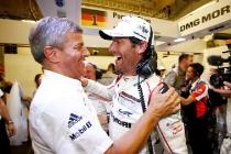 Fritz Enzinger, Leiter LMP1,  Porsche Team: Mark Webber